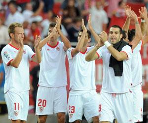 Sevilla: Al Sevilla le quedan ocho finales