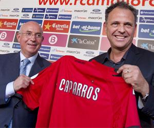 Sevilla: Caparrós es el entrenador del Mallorca