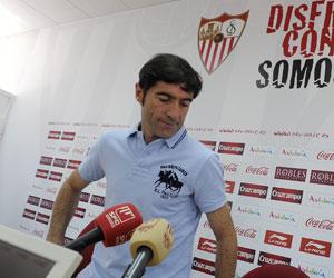 Sevilla: Marcelino confía en ganar hoy al Granada