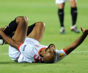 Sevilla: Kanouté se sometió hoy a unas pruebas médicas