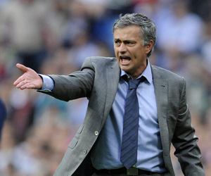 Sevilla;: Mourinho dirigió hoy a sus jugadores