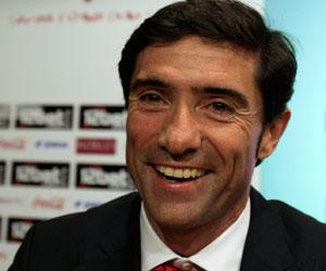 Sevilla FC: Marcelino sonríe en su presentación como técnico sevillista