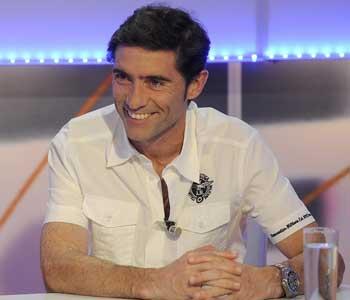 Marcelino, sonríe en un momento del debate