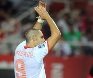 Sevilla: Negredo volverá a ser titular