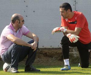 Sevilla: Palop dialoga con Monchi