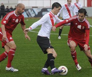 Sevilla FC: Luis Alberto, en una comparecencia con el Sevilla Atlético esta temporada
