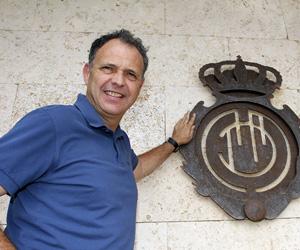 Sevilla: Joaquín Caparrós, entrenador del Mallorca