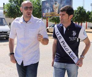 Sevilla FC: Monchi acompaña a Marcelino en su primer día en la Ciudad Deportiva (Foto: Sevilla FC)