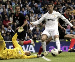 Ronaldo, autor del gol madridista