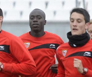Baba jugará de inicio ante el Atlético