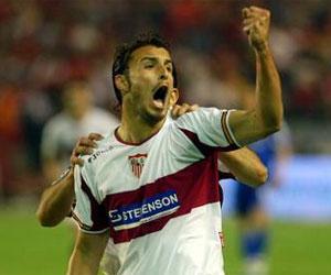 Sevilla FC: La celebración del gol ante el Schalke en Nervión quedará para el recuerdo