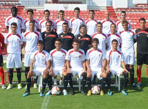 Sevilla: El Sevilla juvenil derrotó en la final al Español