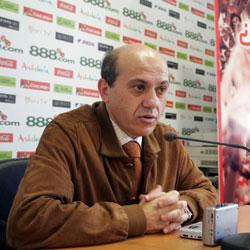 Sevilla: El presidente Del Nido atiende a los medios de comunicación