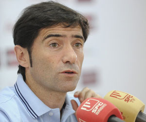 Sevilla: Marcelino es optimista con respecto a la eliminatoria