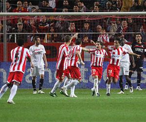 Sevilla FC: El Sevilla cayó en la primera vuelta ante el Almería en Nervión por 1 a 3