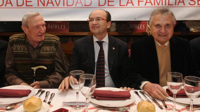 Rafael Carrión, Pepe Castro y Roberto Alés