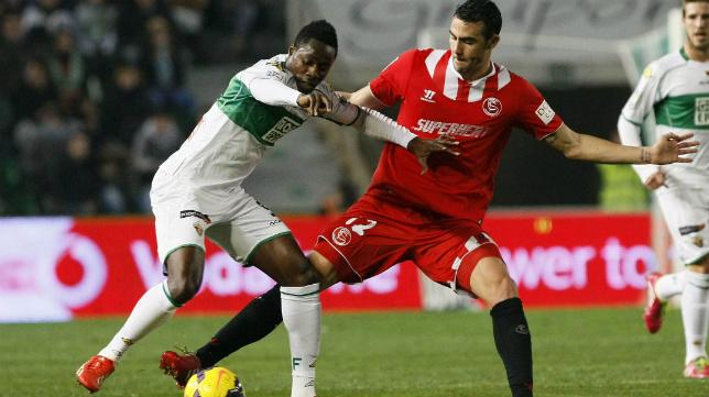 Lance del Elche-Sevilla FC