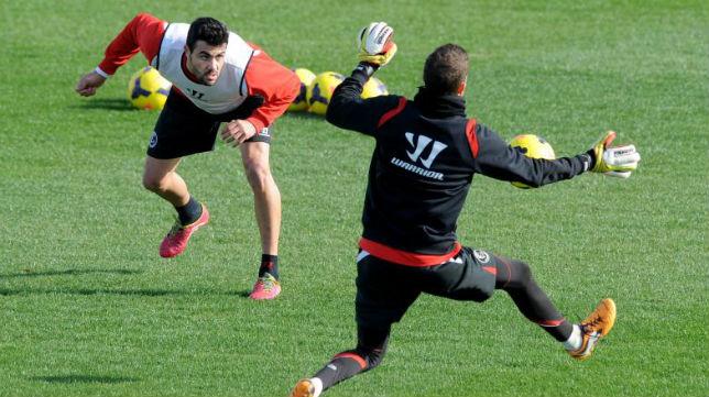 Iborra no jugó en los dos últimos partidos que perdió el Sevilla, ante el Celta y el Levante