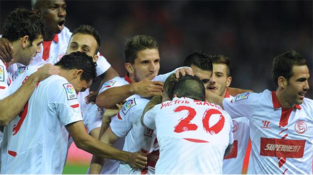 Las mejores imágenes del Sevilla-Athletic de Bilbao