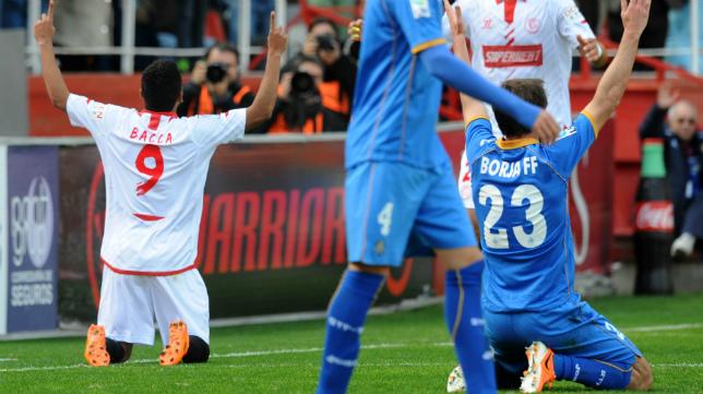 El Sevilla derrotó con claridad al Getafe