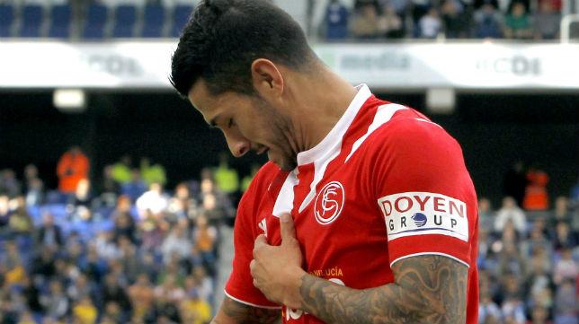 El extremo Vitolo es uno de los habituales titulares de Emery