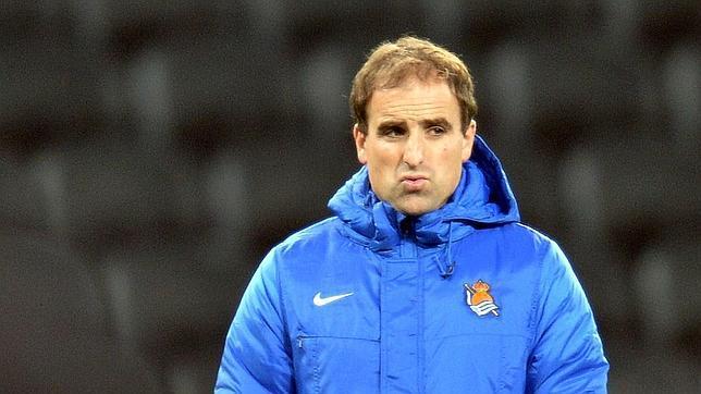 Jagoba Arrasate, técnico de la Real Sociedad