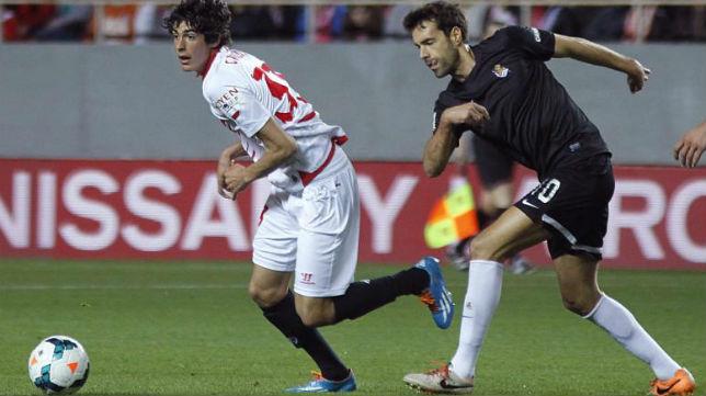 Carlos Fernández debutó en la Liga el pasado domingo