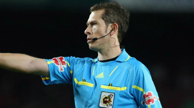 El árbitro castellano-leonés González González