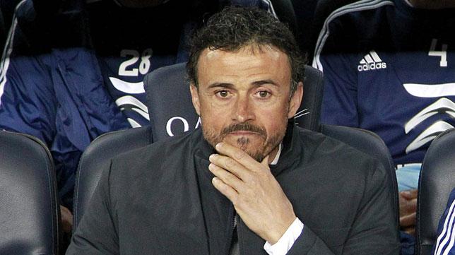 El técnico del Celta, Luis Enrique