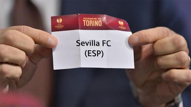 La papeleta del Sevilla FC volverá a estar en un sorteo europeo