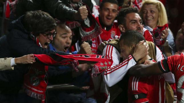 El gol devolvió la ilusión al Benfica