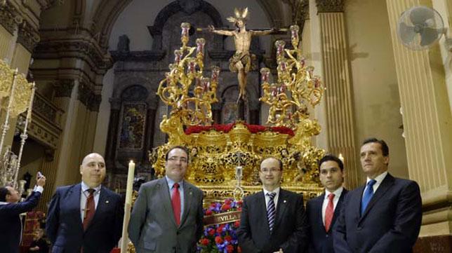 José María Cruz, junto a José Castro y Del Nido Carrasco