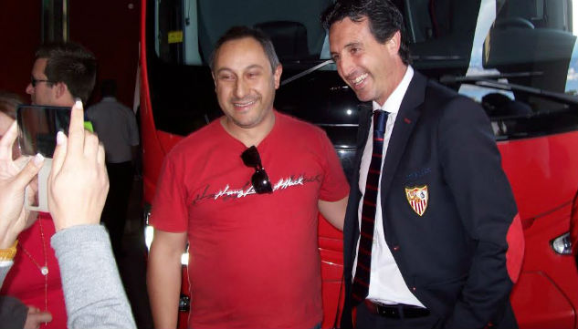Emery, a la llegada a Valencia