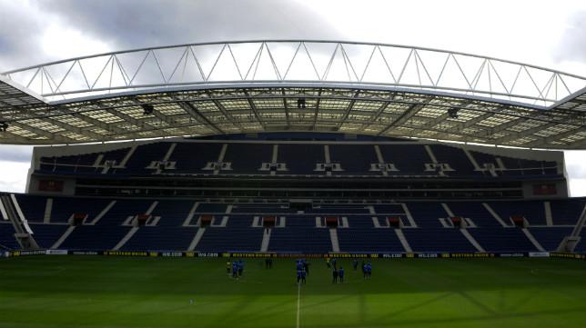 El Estadio do Dragao, este miércoles