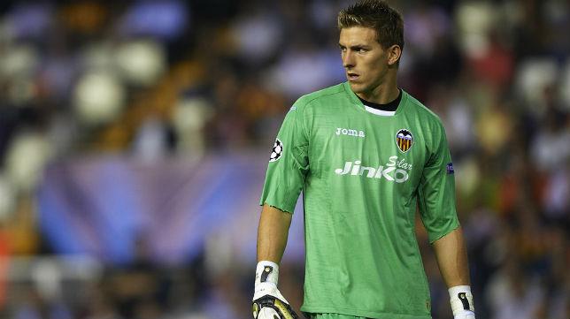 Guaita ha sustituido a Diego Alves, lesionado