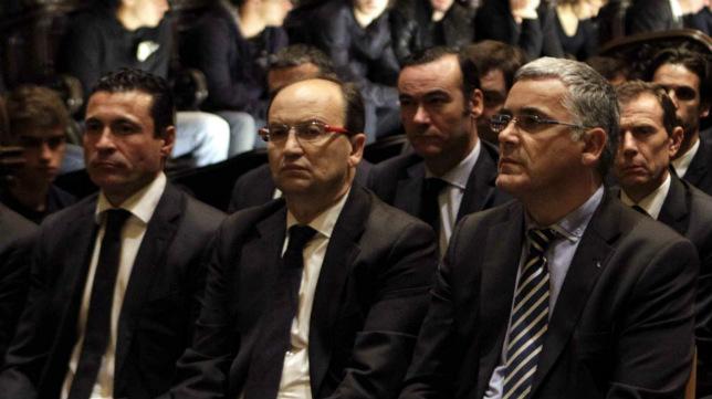 Amadeo Salvo, José Castro y Joan Collet