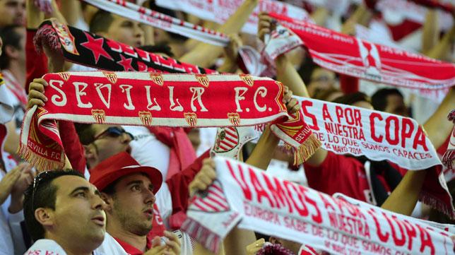 Aficionados del Sevilla FC