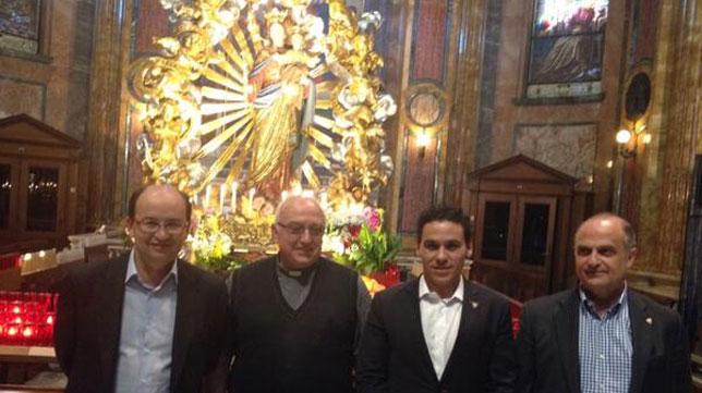 Castro, en la visita a Don Bosco