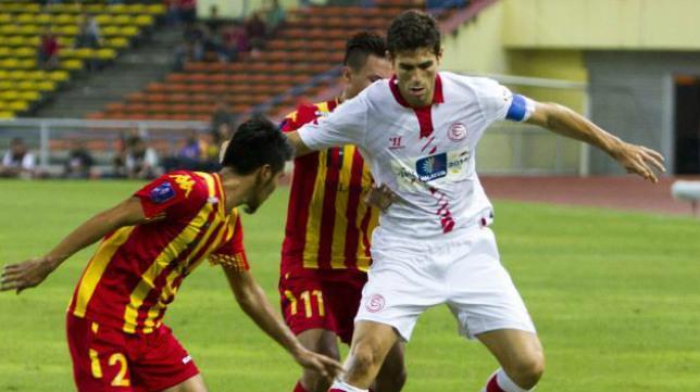 Imagen de uno de los amistosos de postemporada en Asia, ante el Selangor FA