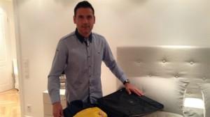 Palop prepara la maleta para Turín en su casa de Alemania