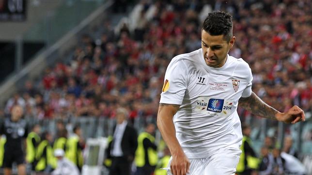 Vitolo, jugador del Sevilla.