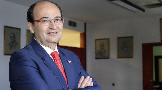 José Castro, en su despacho