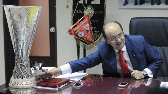 José Castro, en un instante de la entrevista concedida a ABC. Foto: Jesús Spínola