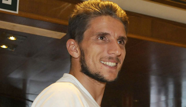 Daniel Carriço, sonriente