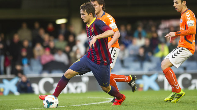 Denis Suárez, en un partido ante el Alavés. Foto: FC Barcelona