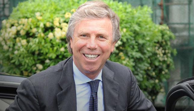 El presidente, Preziosi, estuvo ayer negociando por el argentino