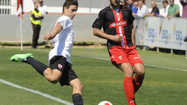 Juan Muñoz, uno de los futbolistas de moda en la cantera del Sevilla FC