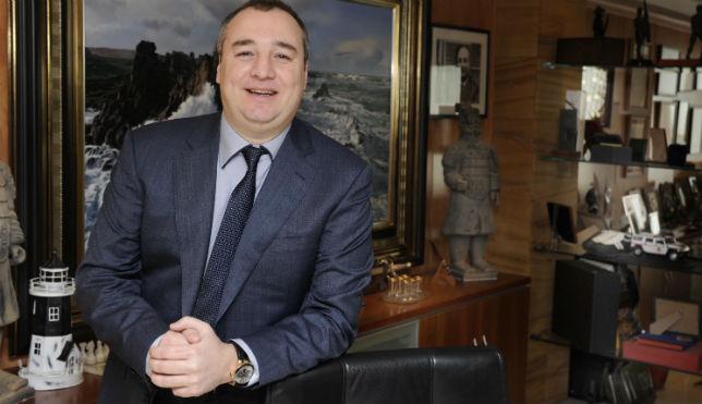 Miguel Ángel Ramírez, presiidente de Las Palmas