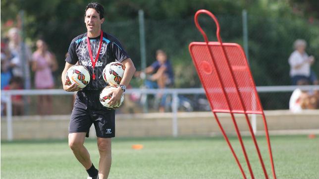 Emery hará pruebas en Costa Ballena