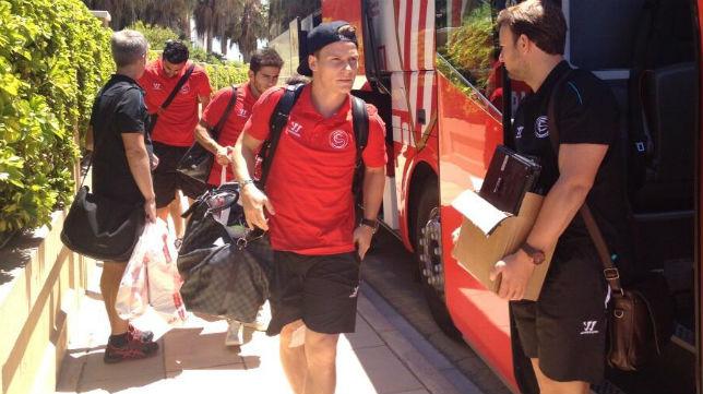 El delantero sevillista Kevin Gameiro. Foto: Sevilla Fútbol Club.